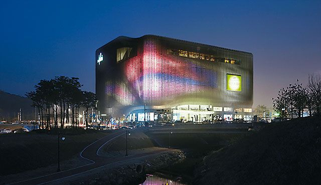 LED Façade And Architectural Lighting   Zumtobel