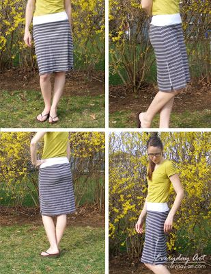 Easy Knit Skirt From Shirt Skirt Patterns Sewing Knit Skirt And Easy