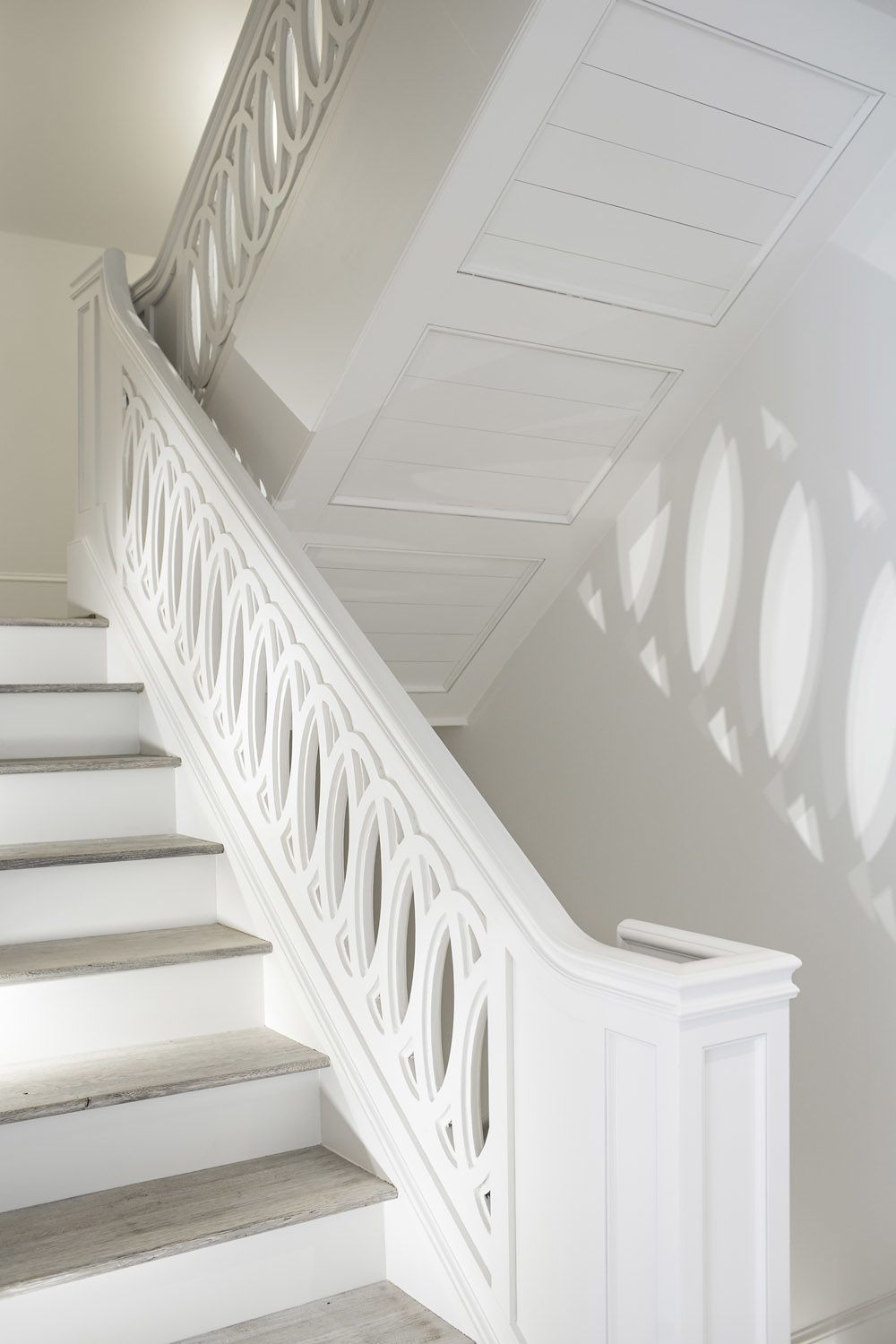 Dream Home Components  Beautiful staircase for an elegant home