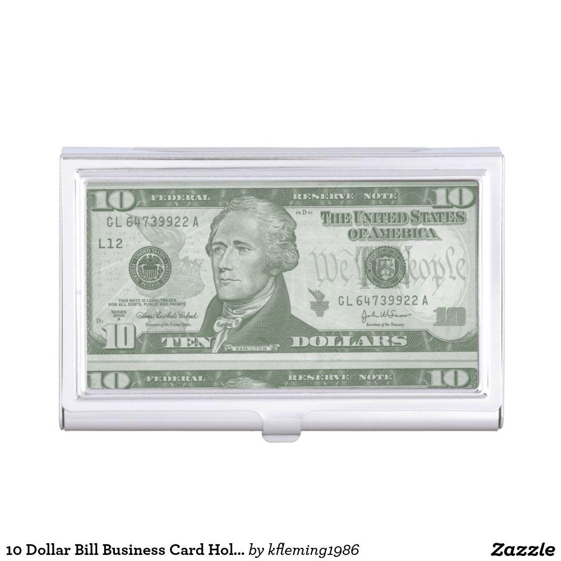 10 Dollar Bill Business Card Holder | Business card holders ...