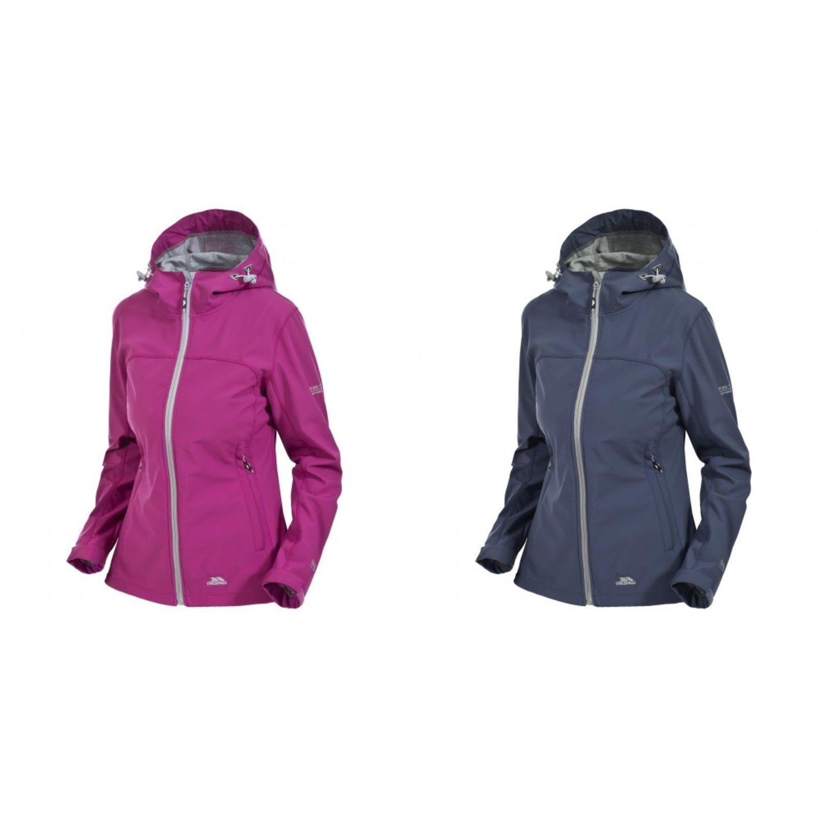 7ec3c9c20b5 Trespass Womens Ladies Loris Waterproof Softshell Jacket