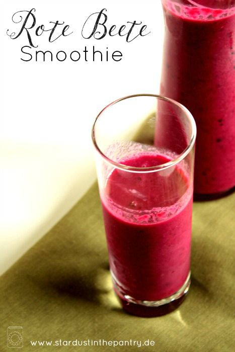 Rote Beete Smoothie #fruitsmoothie