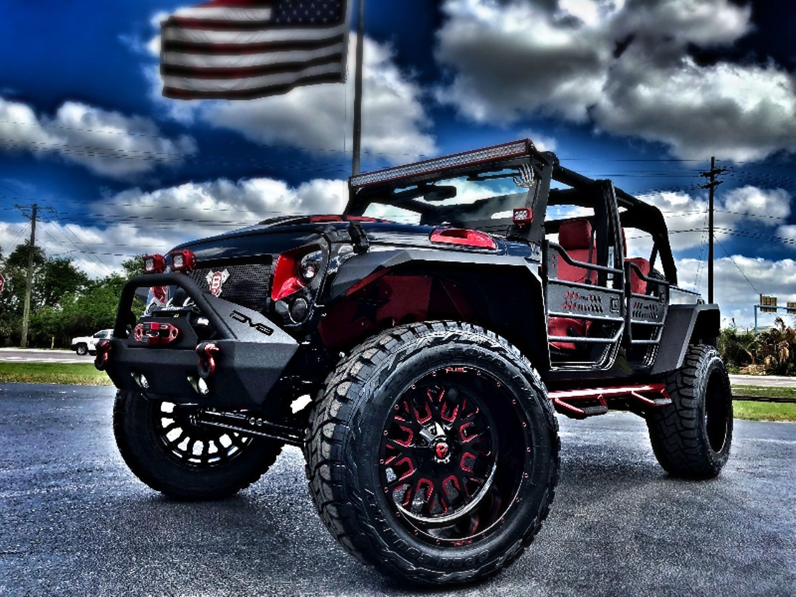 2018 Jeep Wrangler Rubicon Custom Lifted Leather Jeep Wrangler