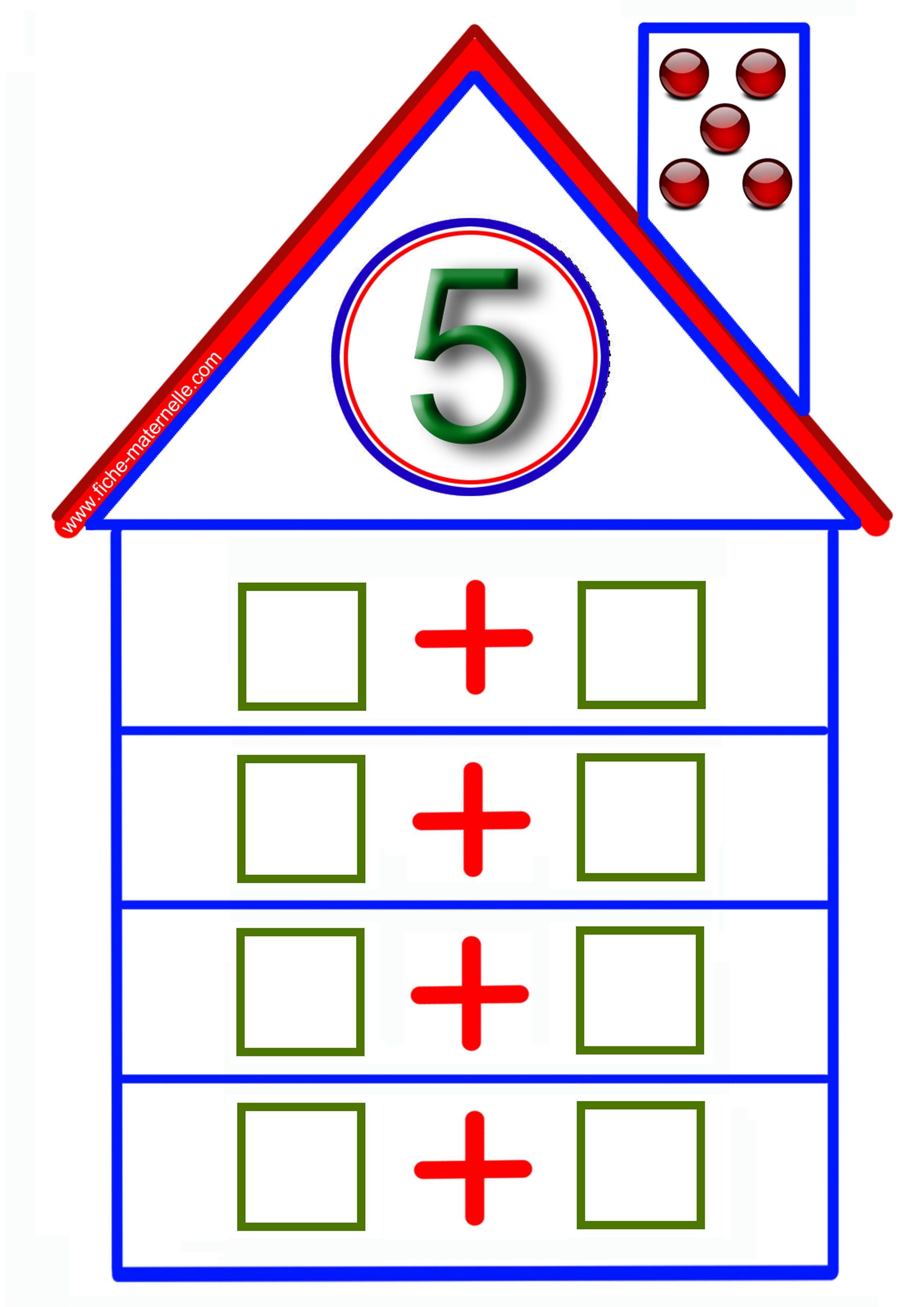 Juego matematico. Descomponer numeros | Abn | Pinterest | Mathe ...
