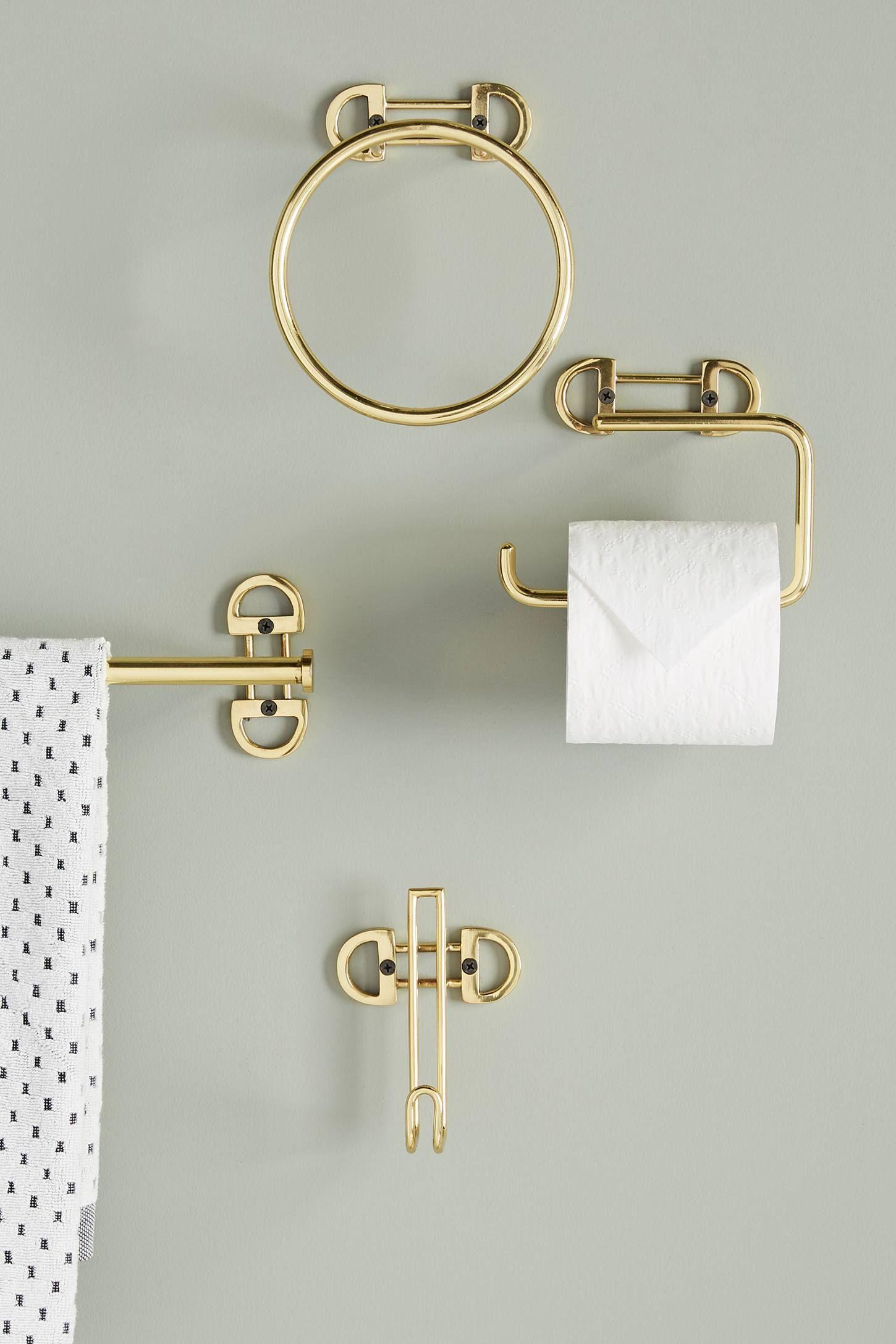 Francine Towel Bar With Images Toilet Paper Holder Towel Bar Towel Hooks