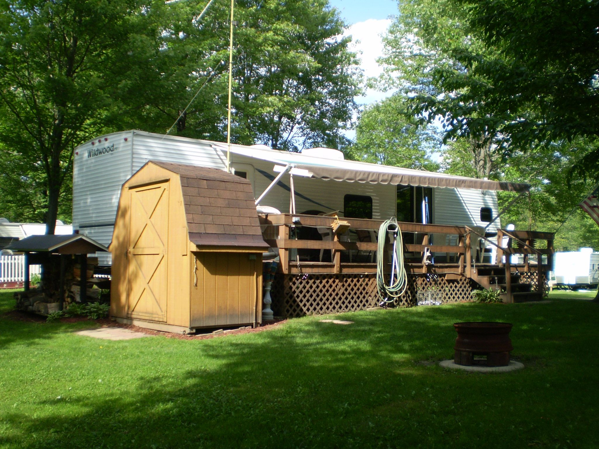 We Have Seasonal Camping Sites Too Leave Your RV With Us All Summer And Maximize