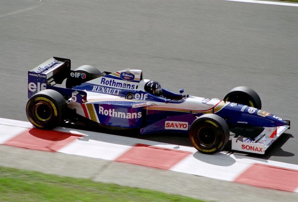 1996 williams fw18 renault damon hill 1996 formu a 1 for Damon racing