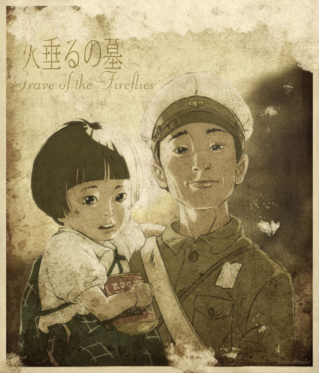 Grave of the Fireflies - Isao Takahata - 1988 - Studio Ghibli - fan art by ~mascerrado