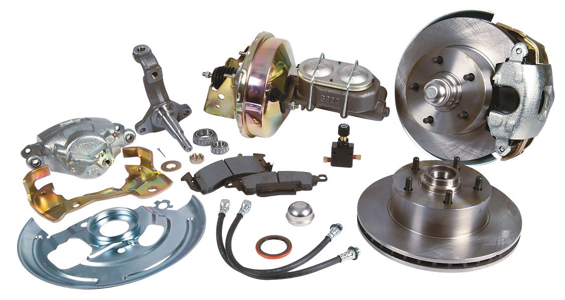 Summit Racing Complete Drum To Disc Brake Conversion Kits With