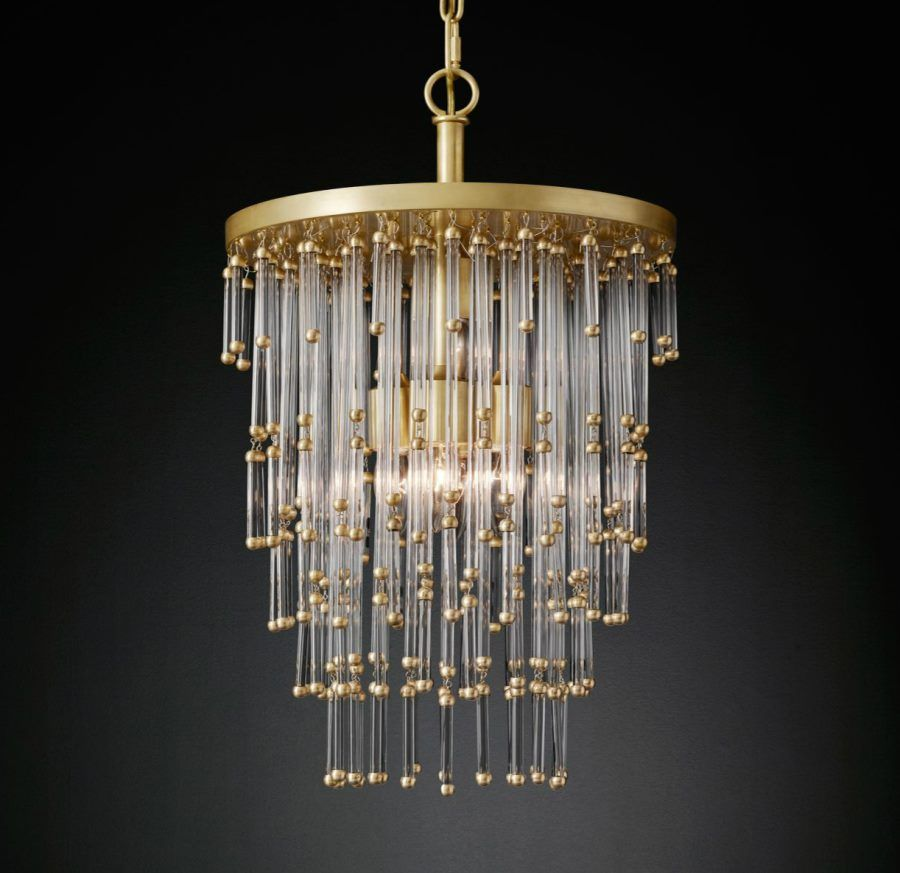 Luciano chandelier from rh modern decoist