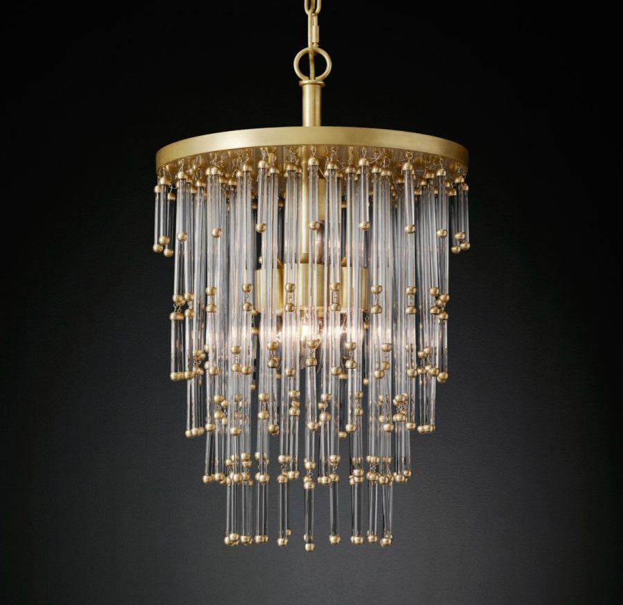 Luciano chandelier from rh modern decoist