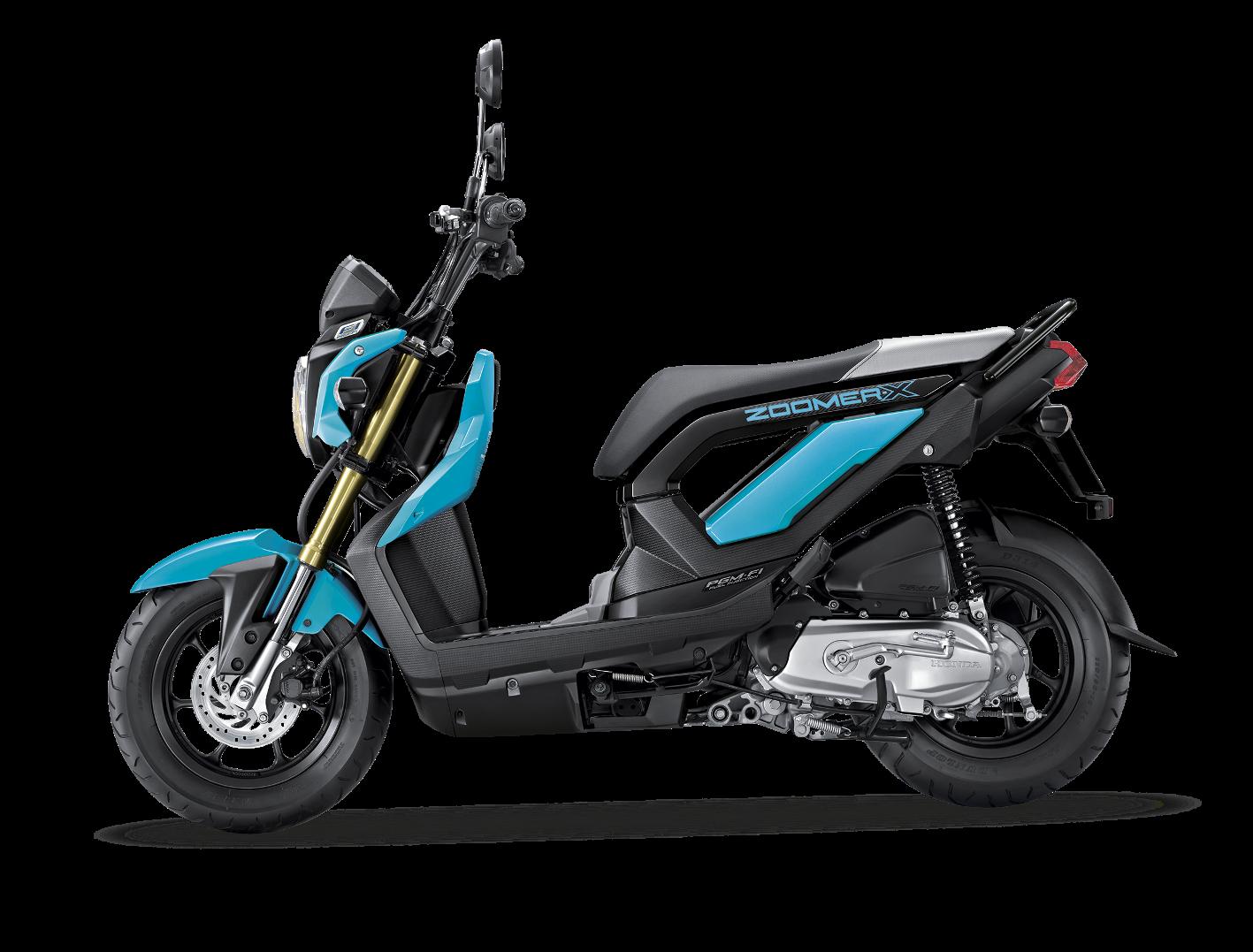 Honda Zoomer X Blue Hires Dekorasi