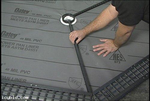 9 In 1 Complete Shower Floor Drainage Kit Icybid Com Best Ebay