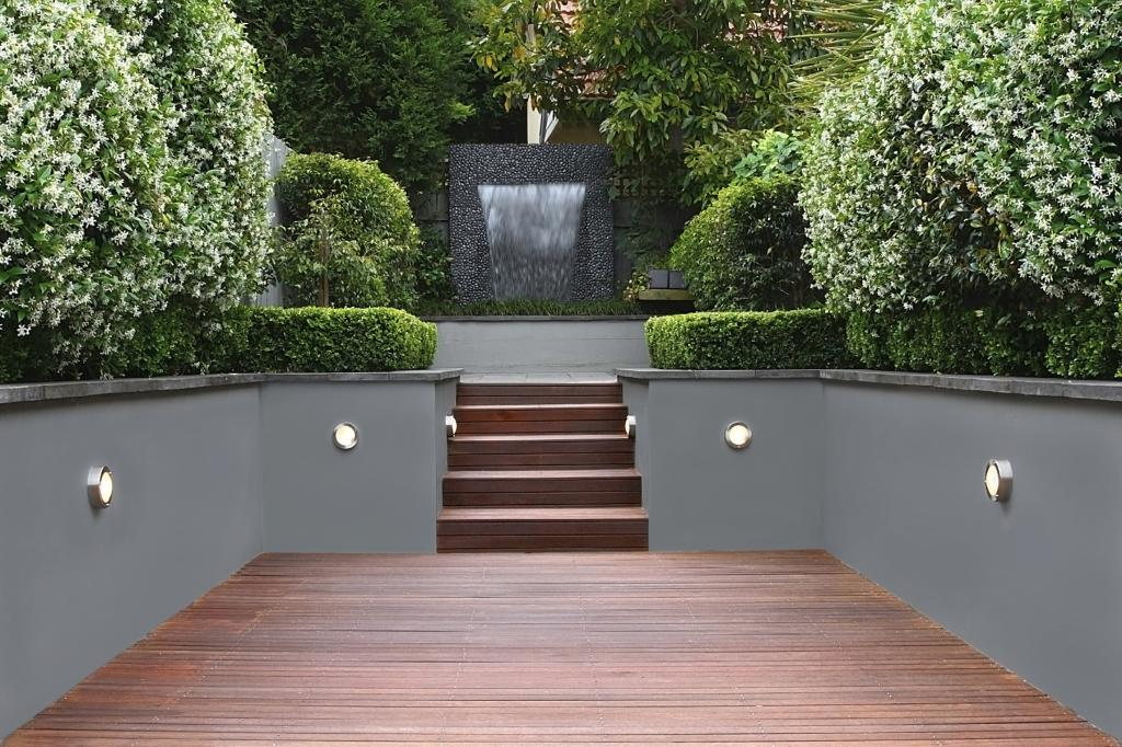 2020 How Much Does Decking Cost Concrete Retaining Walls Modern Landscaping Modern Landscape Design