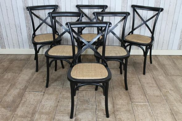Introducing Our New Range Of Stunning Oak Shabby Chic Bentwood Chairs With  Metal Cross Backs. This Solid Oak Black Painted Shabby Chic Bentwood Chair.