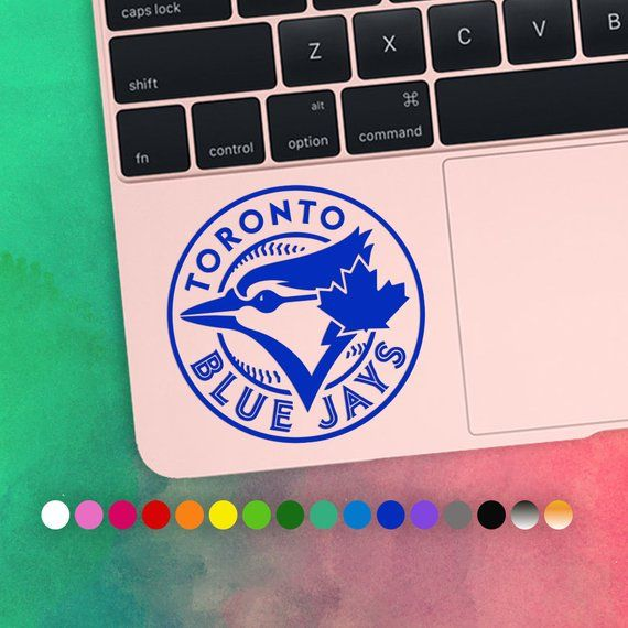 30 Off Toronto Blue Jays Baseball Laptop Vinyl Decal