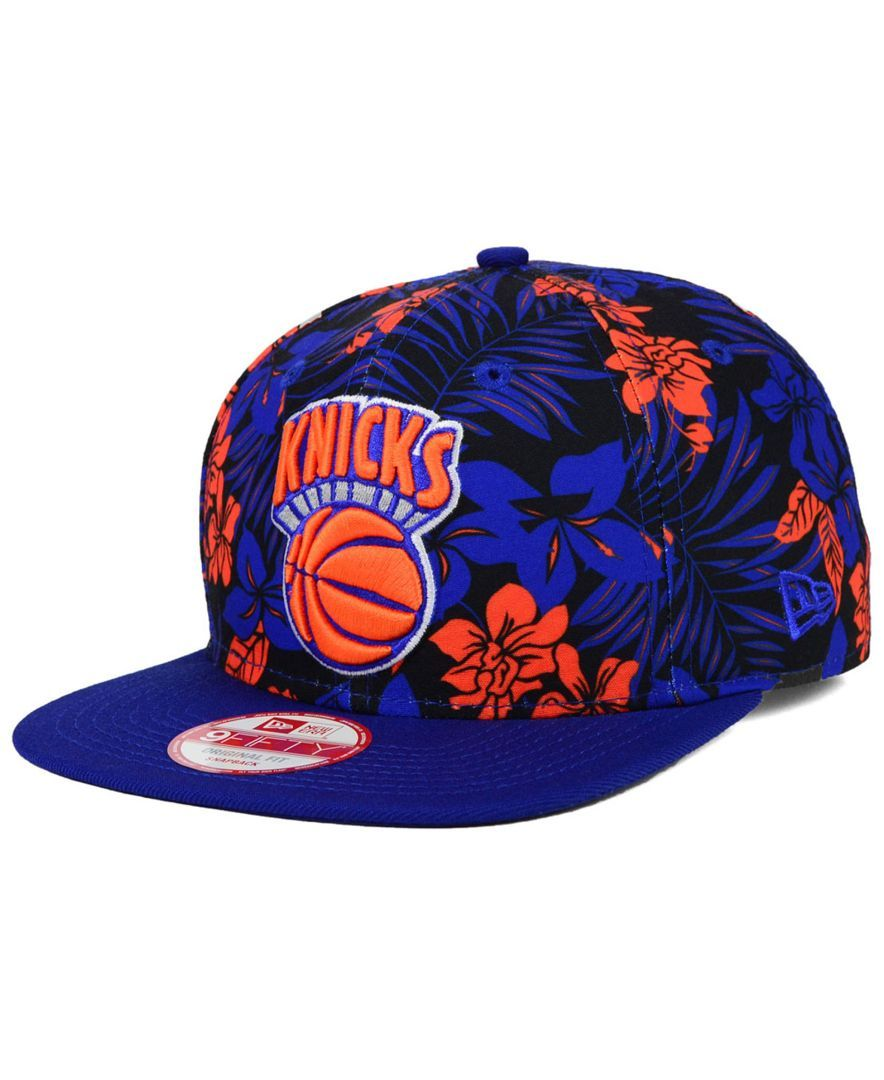 New Era New York Knicks Wowie 9fifty Snapback Cap Sports Fan Shop By Lids Men Macy S New York Knicks New Era Cap Snapback Cap