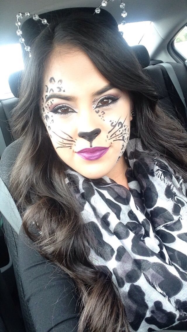 snow leopard for halloween make up pinterest. Black Bedroom Furniture Sets. Home Design Ideas
