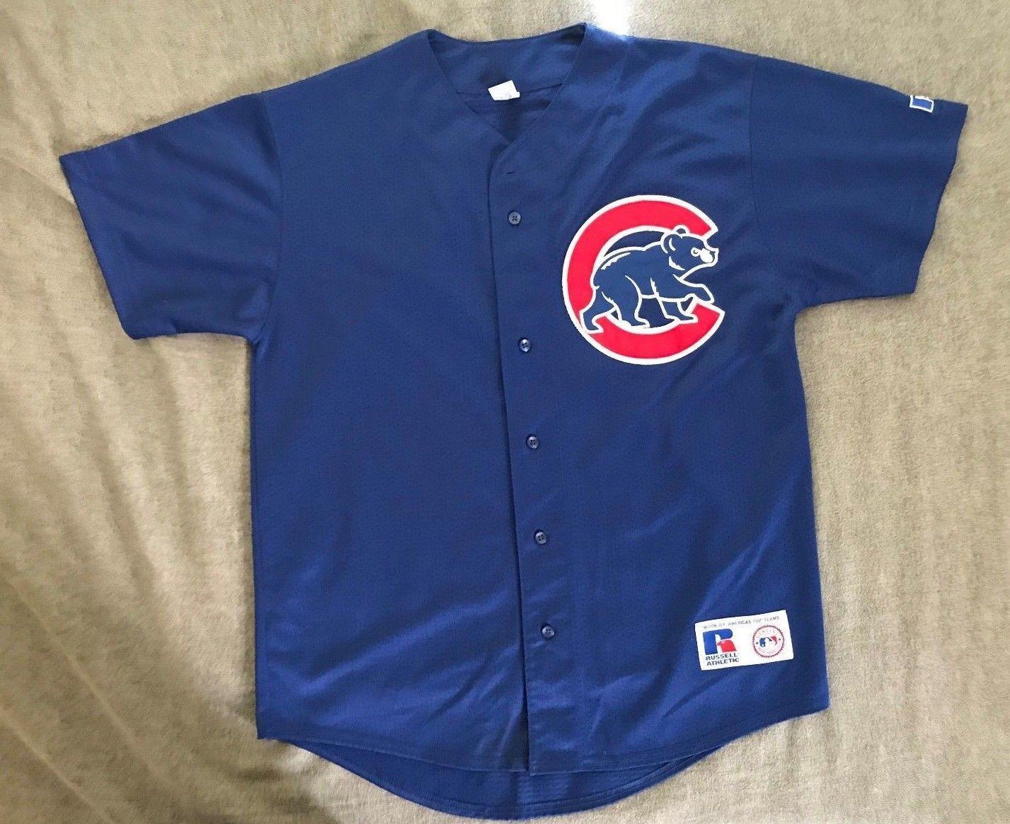 07d1b8839 Men s vintage Russell Athletic MLB Chicago Cubs jersey Aramis Ramirez  21  size M