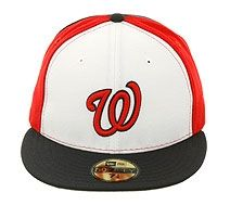 0229e18b New Era Pinwheel Washington Nationals Fitted Hat - White, Red, Navy ...