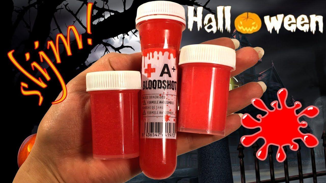 Zeeman Halloween.Bloedslijm Maken Voor Halloween Ik Gebruik 3x Doorzichtig