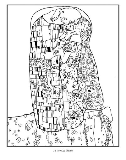 Ruby Door Art & Design: Klimt Coloring Book!!!!!!!!! | Dibujos ...