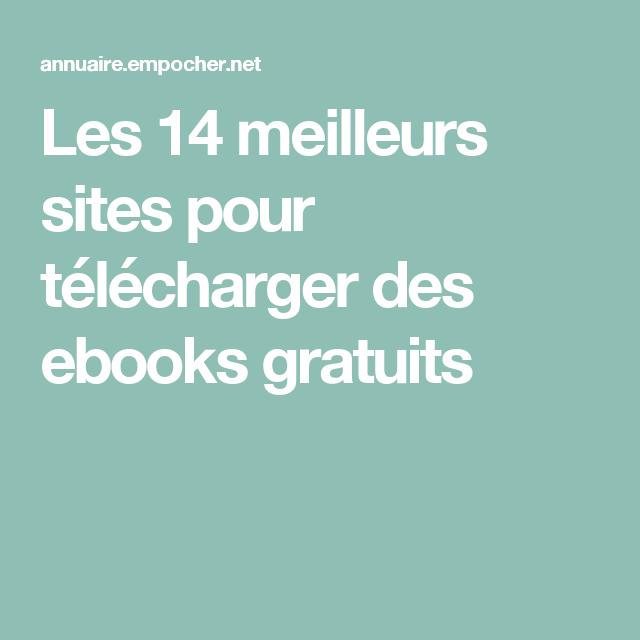 Les 14 meilleurs sites pour télécharger des ebooks gratuits Livre Gratuit  En Francais, Telecharger Livre 67107325163d