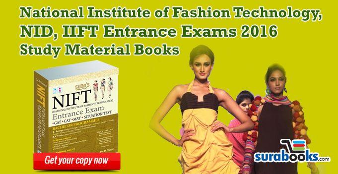 Pin On Nift Nid Iift Entrance Exam Books