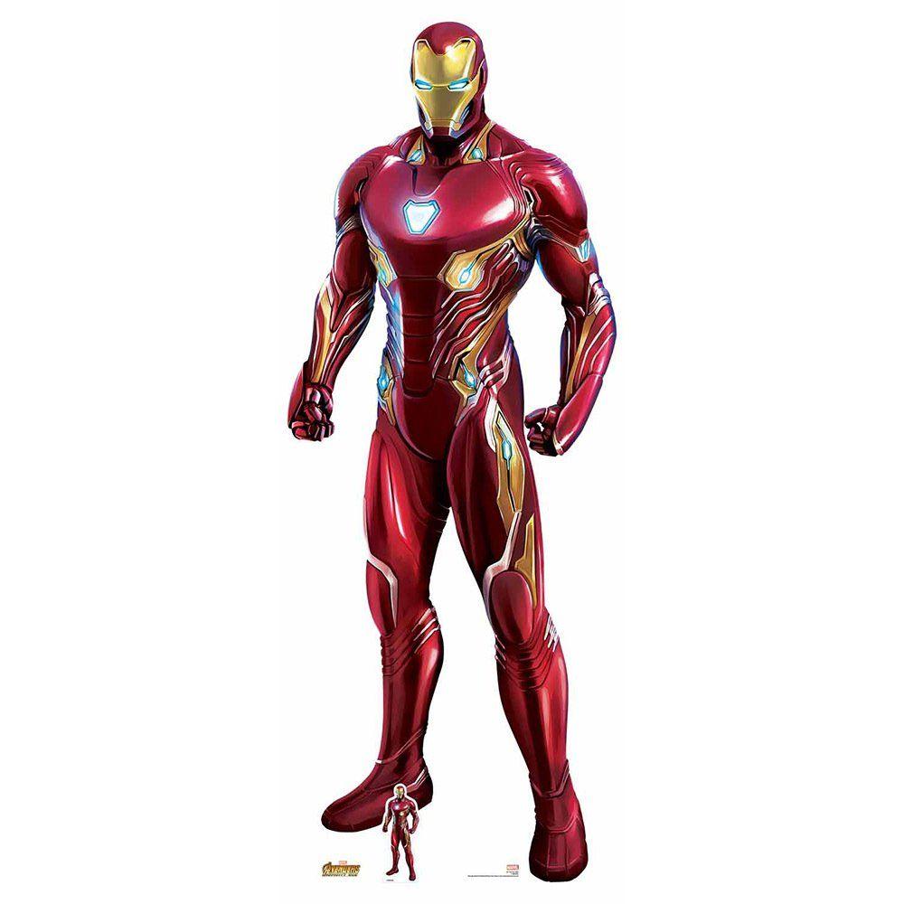 Star Cutouts Iron Man Nanotech Cardboard Cutout Iron Man Avengers Iron Man Iron Man Movie