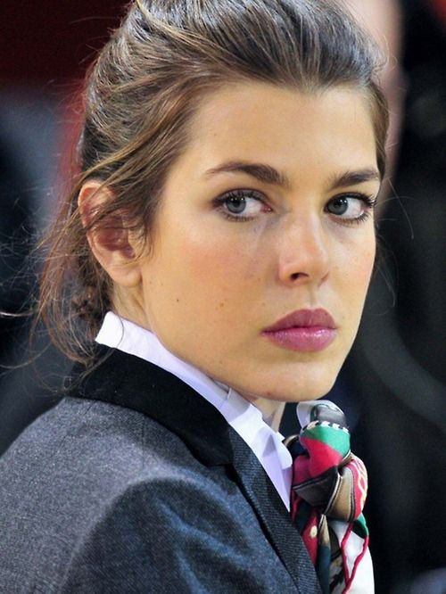 charlotte c Charlotte Casiraghi, Princess Caroline of Monaco's daughter. She really looks a lot like her mother.
