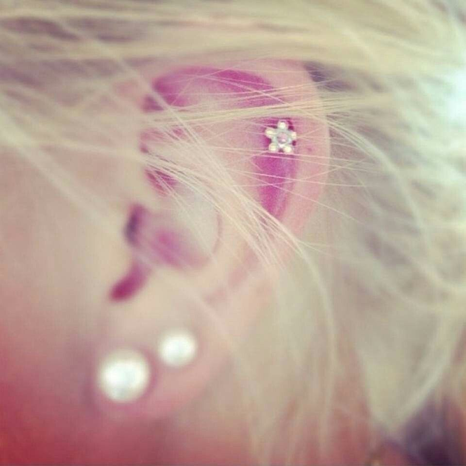 Already have the first two holes but want my cartilage ...