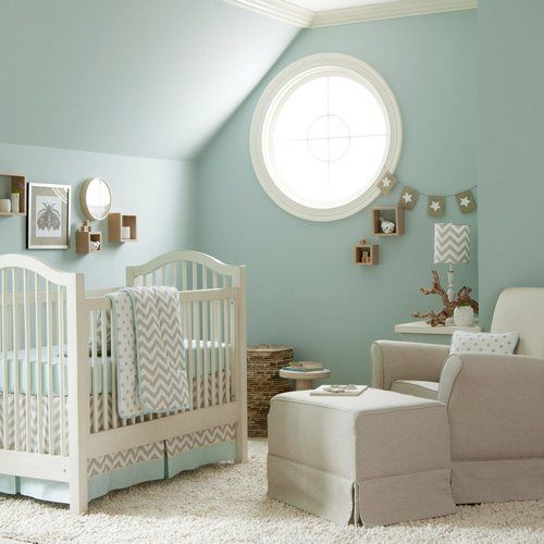 Taupe Zig Zag Crib Bedding Boy Or Baby Collection In And White Carousel Designs