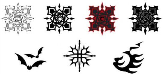 All Vampire Knight Symbols | Vampire knight | Vampire knight
