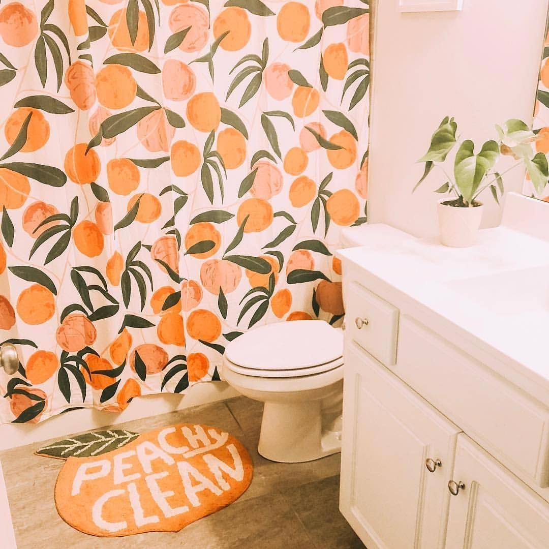 Peach Colored Bathroom Accessories