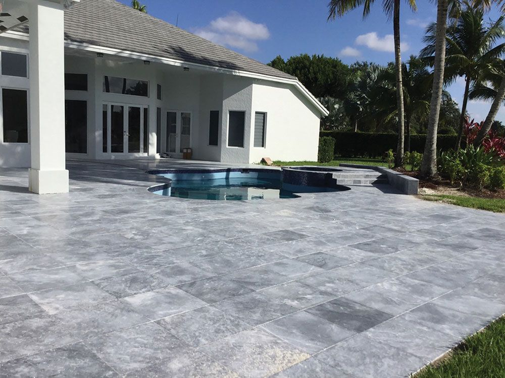 Tahoe Marble Pavers Naturalstone Travertine Design