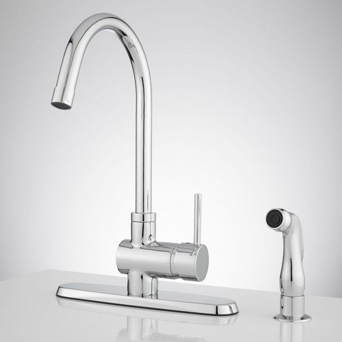healey kitchen faucet with side spray kitchen faucets faucet and rh pinterest com