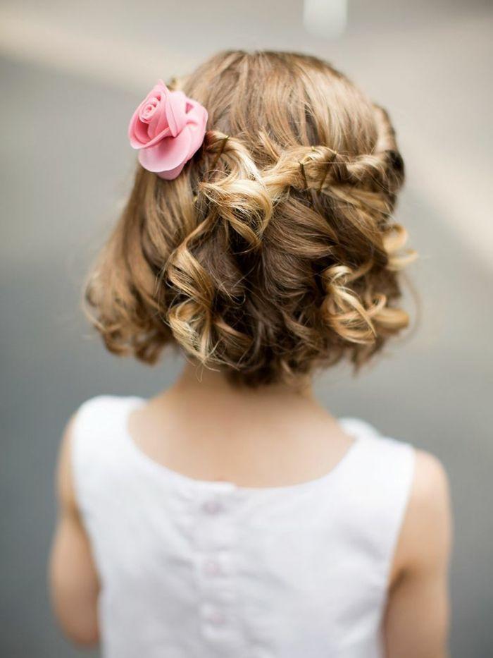 Sencillo y bonito peinados media melena con trenzas Imagen de cortes de pelo Ideas - 1001 + ideas para peinados fáciles para niñas con trenzas ...