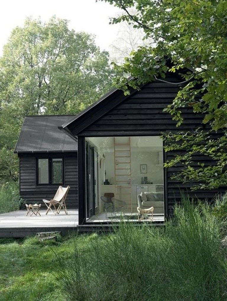 marvelous  wooden house that   simple on the outside but modern inside also rh pinterest