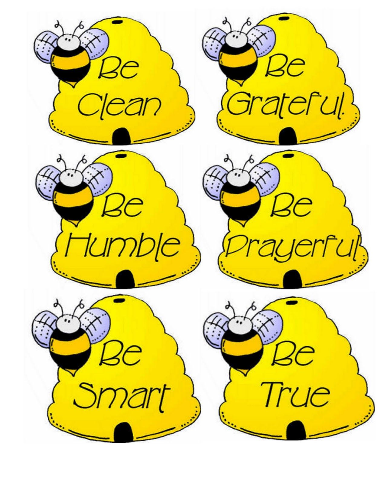 Bee Attitudes Sunday School Lesson | Bee Attitudes Activity Day