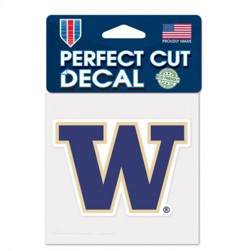 ~Washington Huskies Decal 4x4 Perfect Cut Color~backorder