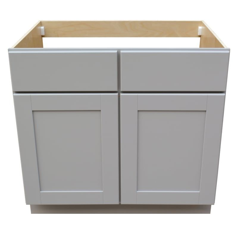 Sunny Wood Gsb36s A Grayson 36 Wide Double Door Sink Base Cabinet