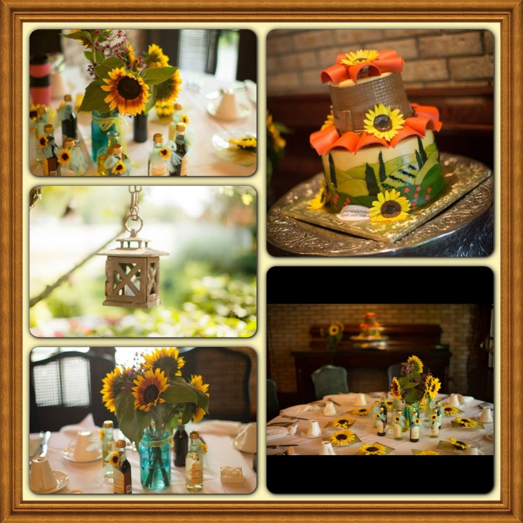 under the tuscan sun theme for bridal shower
