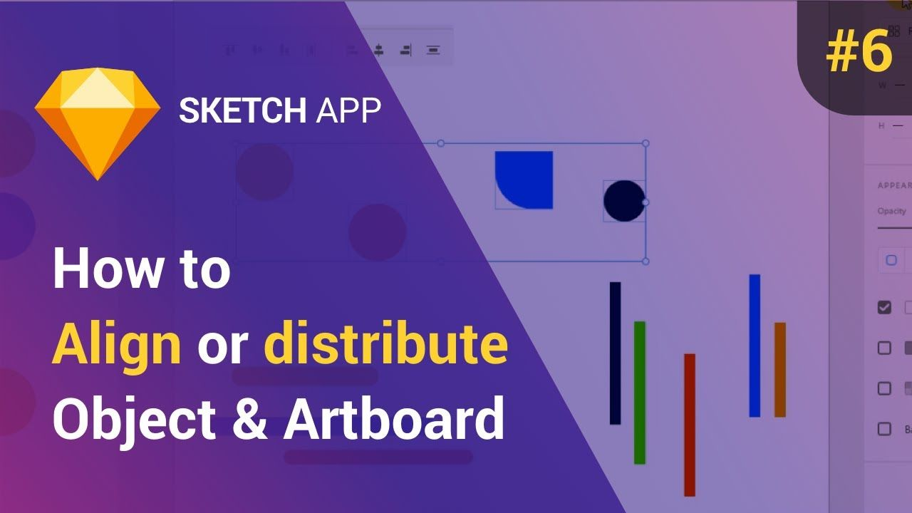 How to move, align and distribute objects in Sketch