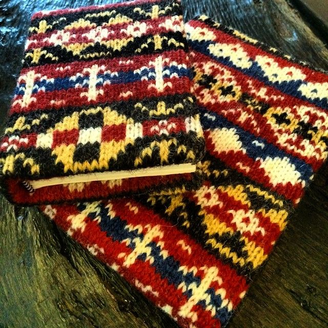 Happy #FairIsleFriday! These lovely Fair Isle notebooks can be ...