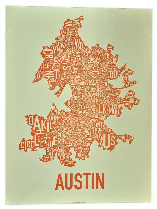 austin neighborhoods austin map
