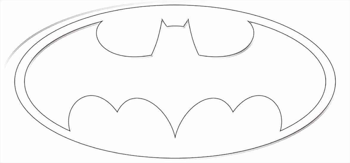 Batman Logo Coloring Page 40th Birthday Batman Logo Batman