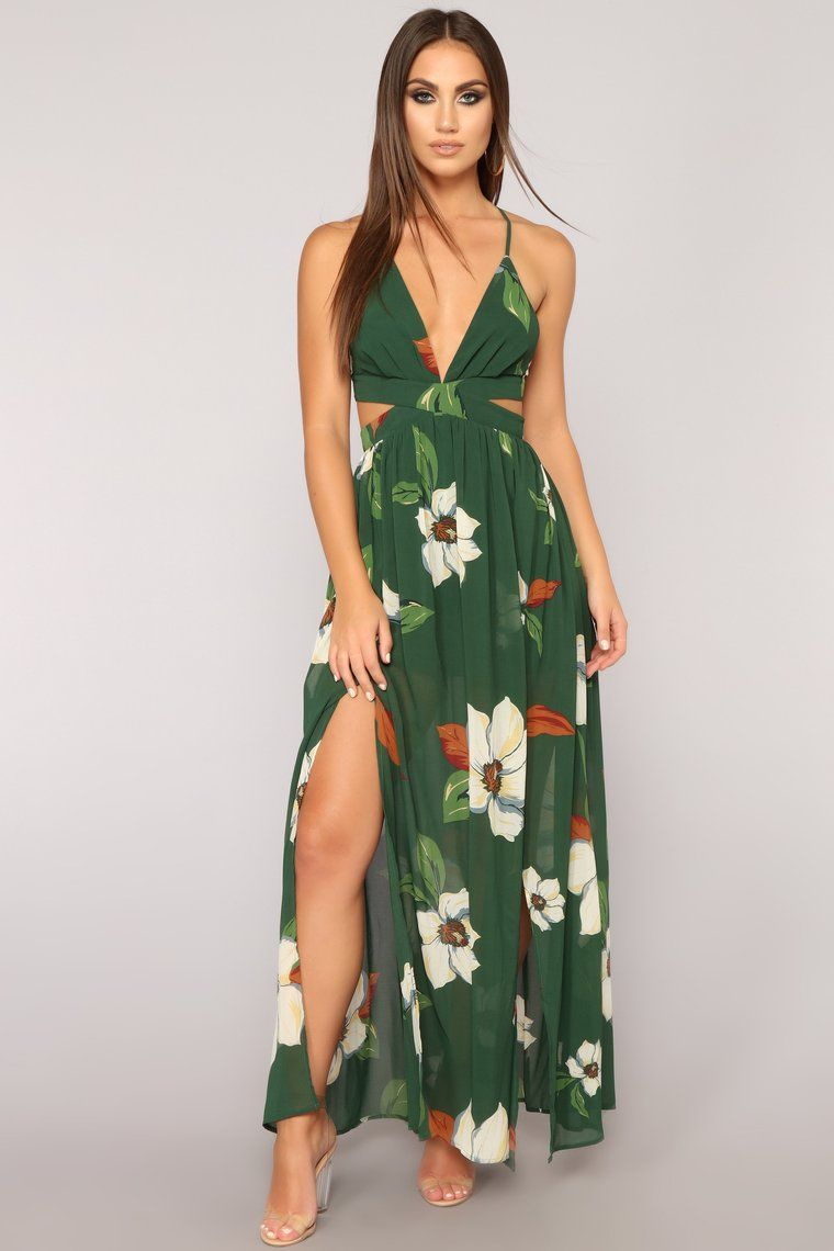 861bb311b6bf Lanai Maxi Dress - Hunter Green in 2019 | Stephanie Rayner | Dresses ...