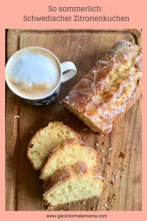 Photo of Gâteau au citron de Suède: recette de gâteau rapide pour le week-end