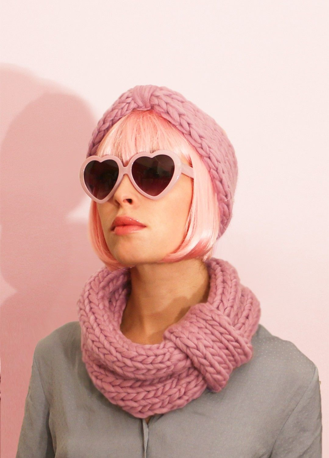 Blueberry Muffin Snood and Headband kit from We Are Knitters ...