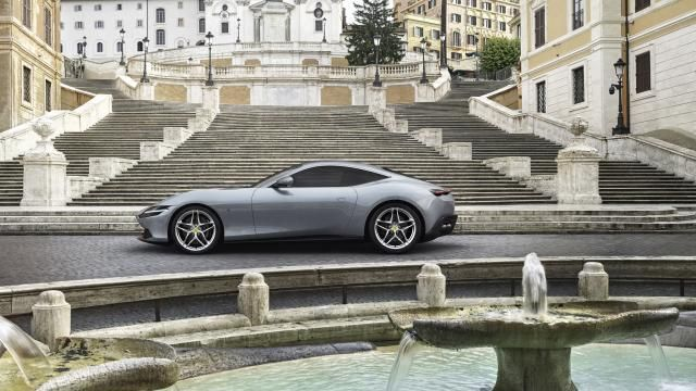 The new Ferrari Roma is an Aston Martin Vantage killer #newferrari